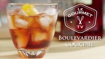 Boulevardier Cocktail Recipe - Le Gourmet TV