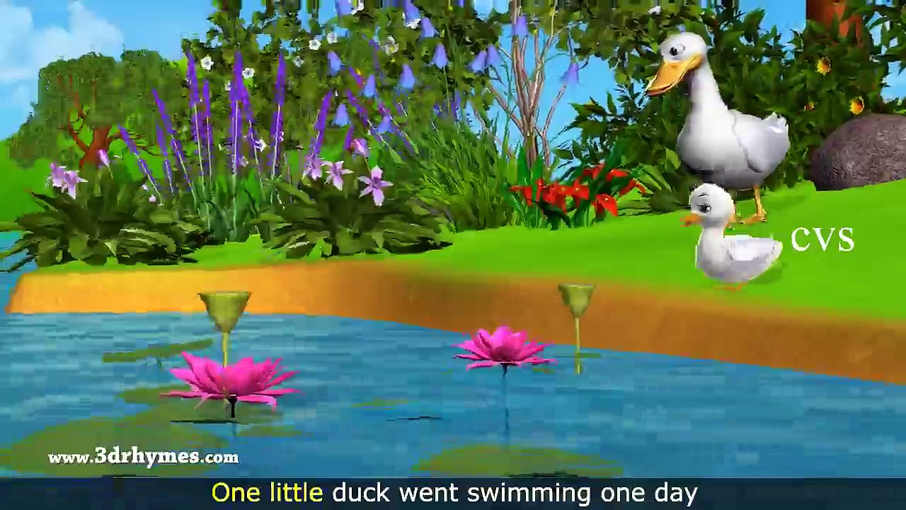 Five Little Ducks Went Out One Day – 3D Animation Five Little Ducks Nursery Rhyme for children – Video Dailymotion