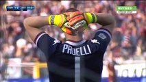 Goals Canceled for Torino Italy  Serie A - 20.03.2016, Torino FC 1-2 Juventus FC