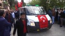 Şehit Jandarma Uzman Çavuş Kurtoğlu Son Yolculuğuna Uğurlandı