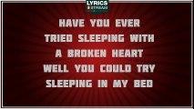 Try Sleeping With A Broken Heart - Alicia Keys tribute - Lyrics