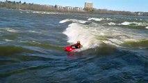 Ottawa River Kayak Surfing
