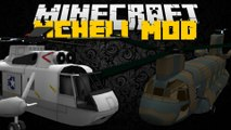 Minecraft: MCHeli Mod (Helicopters, Planes, Passenger Planes & MORE) Mod Showcase