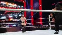 WWE RAW Roman Reigns vs Sheamus December 14, 2015