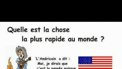 La chose la plus rapide aux yeux d'un français.. ...