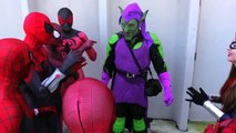 SPIDER-VERSE vs GREEN GOBLIN - Real Life Spider-Man Beat Down! Marvel Spoof