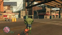 Predator VS Hulk & Spider-man - Epic Battle (GTA 5) - video