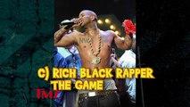 Which rich, black rapper banged Kim Kardashian…besides Kanye West?
