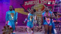 Wrestling Lilian Garcia vs Lucha Dragons vs The Usos 1/2