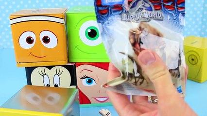 DISNEY SURPRISE TOYS! Cubeez Surprise Cubes filled with Surprise Eggs, Blind Bags Toys Dis