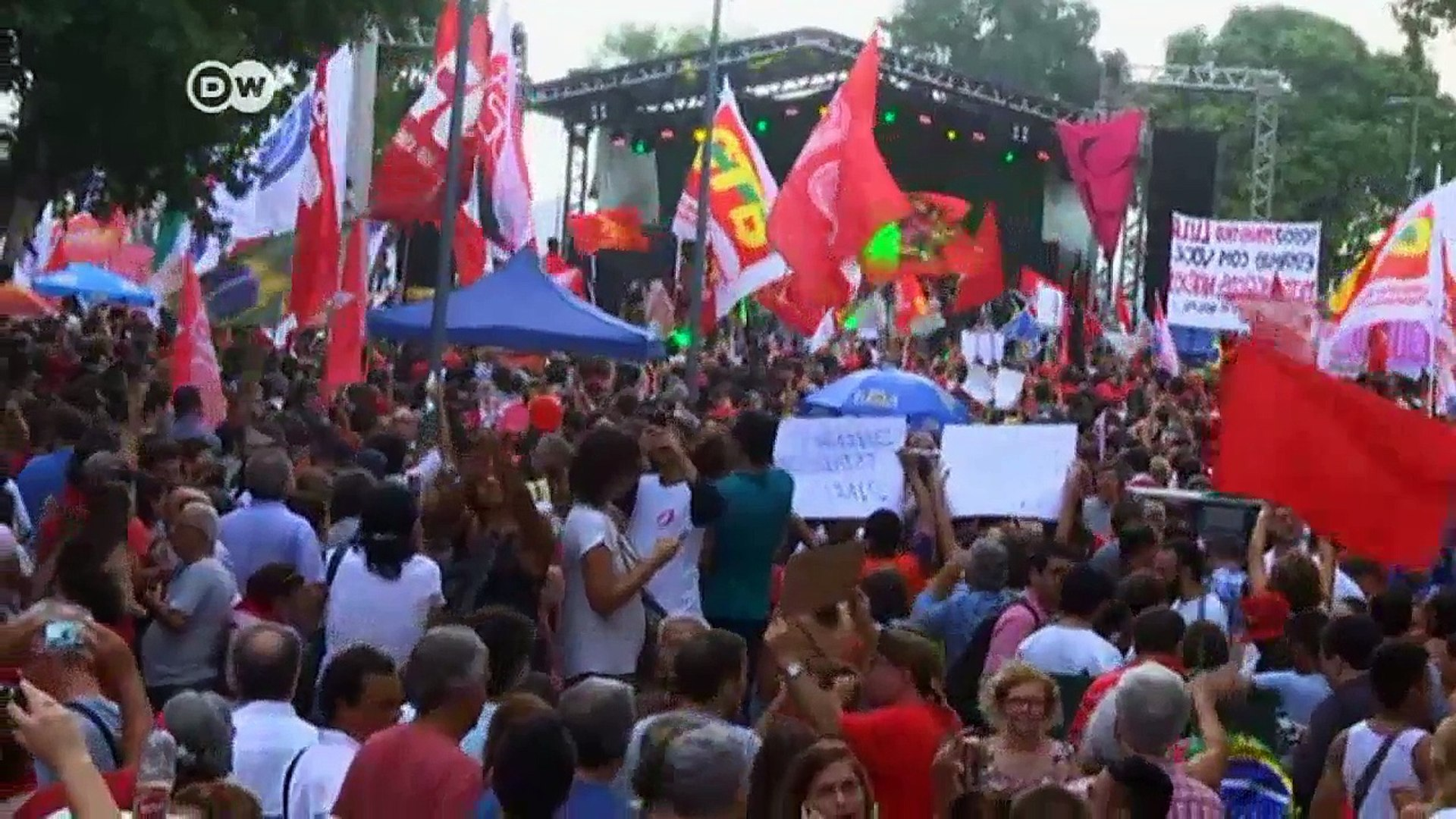Brazils political crisis carries on   DW News