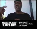 West Coast Theory - Percee P at Fat Beats, L.A.