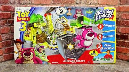Toy Story 3 Action Links Junkyard Escape Stunt Set With Surprise Blind Bags Toys DisneyCar