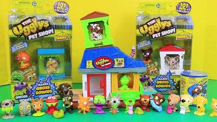The Ugglys Pet Shop Gross Homes Ultra Rare METALLIC POOP Dog & Puppy Pets DisneyCarToys