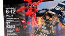 CARNAGE vs SHIELD & SPIDER-MAN (76036) Lego Marvel Super Héroes