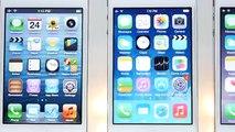 iOS 5 vs iOS 6 vs iOS 7 vs iOS 8 vs iOS 9 on iPhone 4S Speed Test