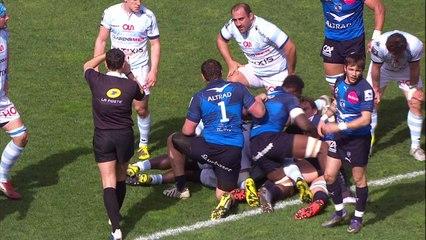 Résumé Montpellier - Racing 92 : 60 - 7
