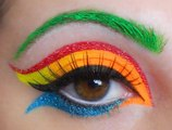 Most Popular Colorful Eye  look Make up I The Colorful Eye Look I Bright Colorful Eyeshadow Look I Spring 2016 Look