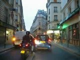 Paris 10eme rue de Paradis et rue Papillon