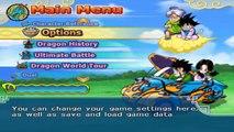 DRAGON BALL Z BUDOKAI TENKAICHI 3 VERSION LATINO GAMEPLAY LAS FAMILIAS DE GOKU Y VEGETA