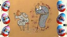Мульт-сказка для детей с киндерами. Золушка. ПРОФ�