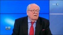Jean-Marie Le Pen : la loi El Khomri c'est une montage qui a accouché d'une souris... qui a fait prout