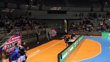 John Miles le remix au Palais des Sports de Toulouse - un moment supporters des Spacer's