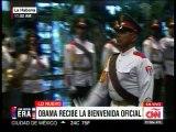 Obama y Castro se reúnen en palacio de la Revolución Cubana en La Habana