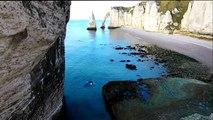 Les falaises d' Etretat, Normandie, France