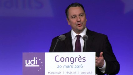 Discours de Franck Reynier - Congrès - 20 mars 2016