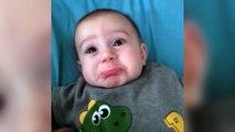 Un bébé qui passe du rire aux larmes en 2 secondes