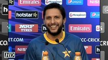 PAK vs NZ T20 WC We Are Hungry To Win Shahid Afridi