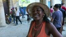 """""""Wie geht's, Kuba?"""" - Obama in Havanna eingetroffen"""