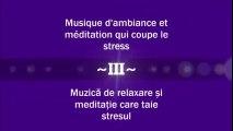 Musique d'ambiance et meditation qui coupe le stress - Muzică de relaxare și meditație care taie stresul ( Partea a III-a )