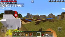 Minecraft PE : ARMADILHA NA PORTA ( Minecraft Pocket Edition)