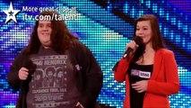 Opera duo Charlotte  Jonathan - Britains Got Talent 2012 audition - UK version