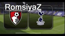 Highlights Tottenham Hotspur vs AFC Bournemouth EPL MAR-20-2016