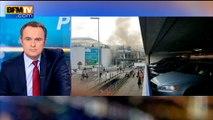 """Explosions à l'aéroport de Bruxelles: """"plusieurs blessés, plus aucun vol ne décolle ou n'atterrit"""""""