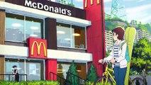 McDonalds se paye une pub en Manga au Japon!