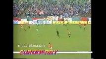 10.04.1991 - 1990-1991 UEFA Cup Winners' Cup Semi Final 1st Leg Legia Varşova 1-3 Manchester United