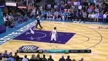 Tim Duncan And-One - Spurs vs Hornets - March 21, 2016 - NBA 2015-16 Season