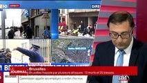 Témoignage d'un bruxellois assistant à l'explosion dans un Métro à Bruxelles