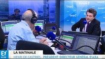 AXA,crise économique, HSBC : Henri de Castries répond aux questions de Jean-Pierre Elkabbach