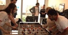 Euro 2016 : « Papy-Foot », un tournoi de baby-foot intergénérationnel