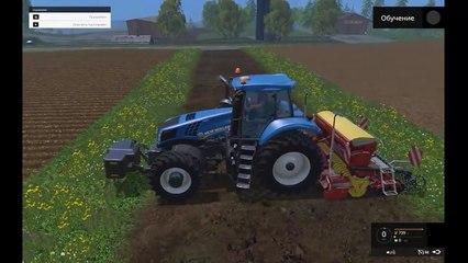 Мультик Трактор и Сеялка 2ч.Сельхозтехника для малышей.Развивающие мультфильмы для детей