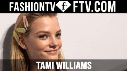 Roos Abels | Model Talks S/S 16 - Milan | FTV.com