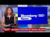 Brussels attacks Sky News,Euronews, BloombergNews, CNN, coverage  on terror attack in Brussels