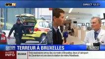 8 personnes en urgence absolue au services des urgences de l'hôpital à Bruxelles