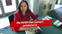 Meet The Woman That Signs Your Money!