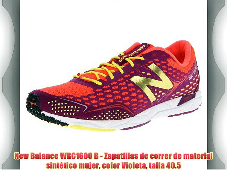 New Balance WRC1600 B Zapatillas Running para Mujer
